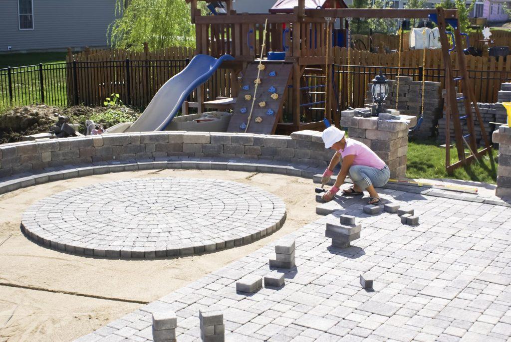 this image shows simi valley concrete masonry patio builders