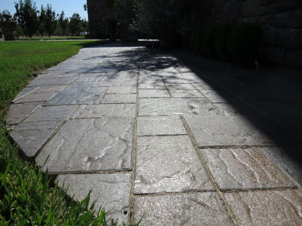 this is an image of the stamped concrete in simi valley