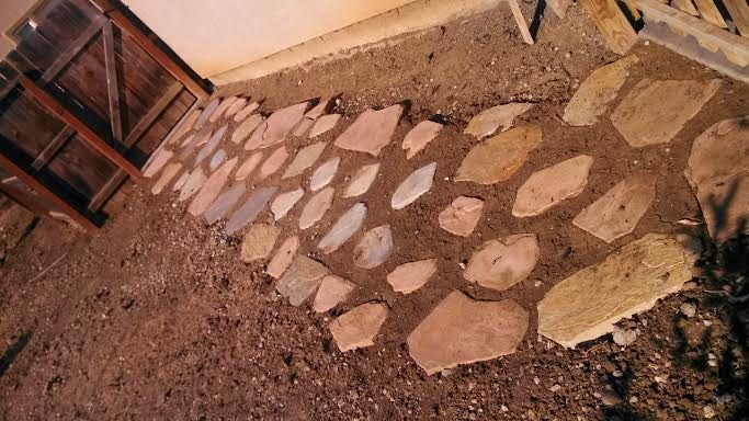 this image shows flagstone patio simi valley