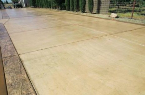 this picture shows concrete driveway simi valley