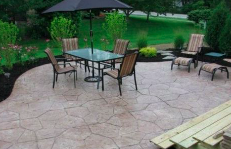 this picture shows simi valley concrete patio