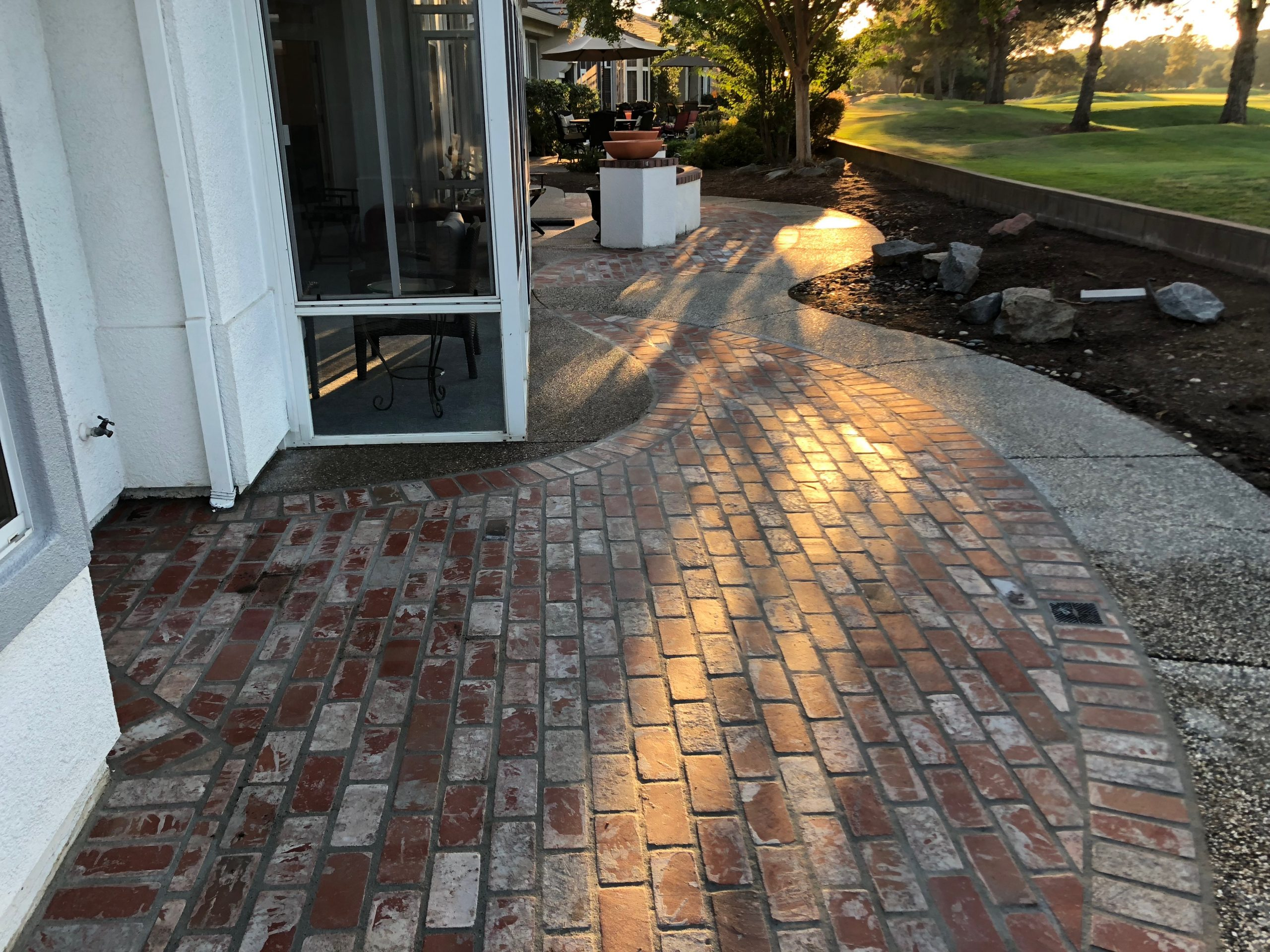 this image shows brick pavers in Simi Valley