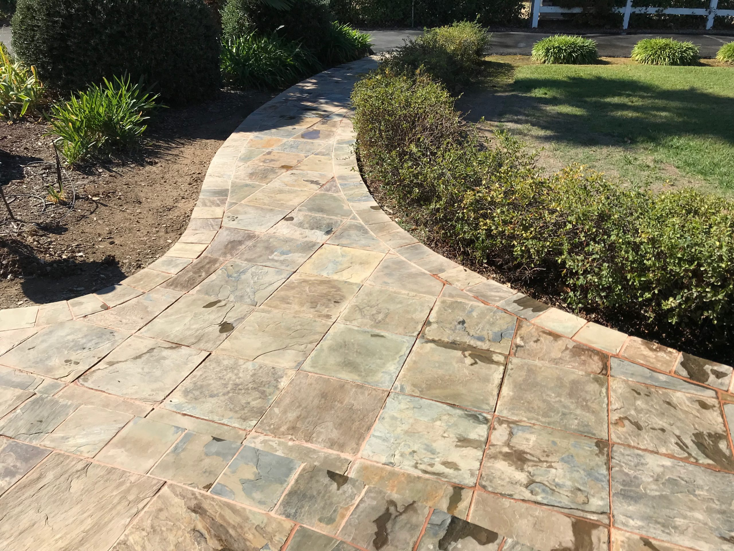 this image shows concrete pavers in Simi Valley