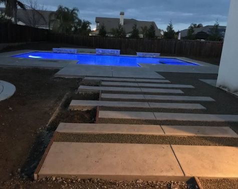 this is an image of concrete slab in Simi Valley