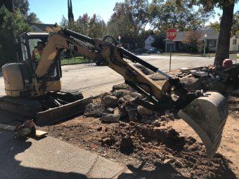 Simi-Valley-concrete-driveway-excavation